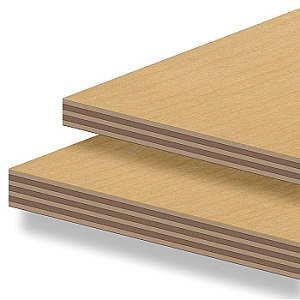 High quality multilayered hardwood construction