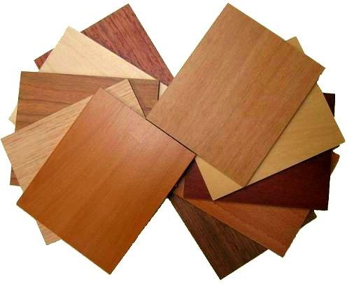 Veneer wood construction techniques